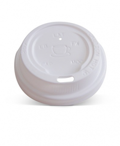 80mm white lid