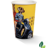 10oz single wall art print cup