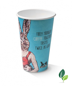 12oz single wall art print cup