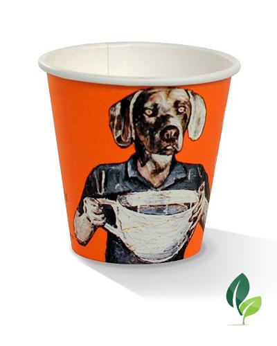 06oz single wall art print cup
