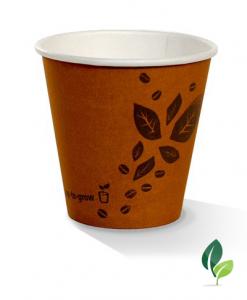 08oz single wall brown eco cup