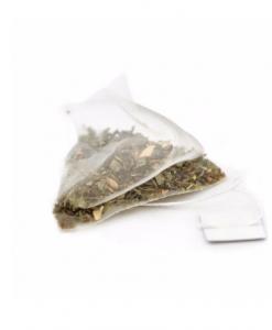 ginger and lemongrass pyramid teabags
