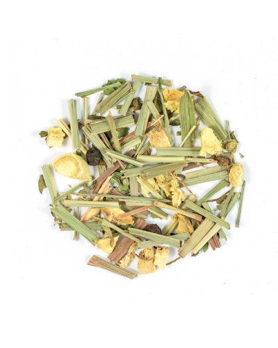 ginger & lemongrass loose leaf tea 100gm