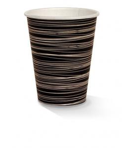 12oz single wall zebra print cup