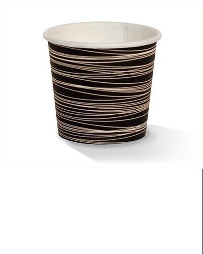 04oz single wall zebra print cup