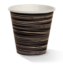 08oz single wall zebra print cup