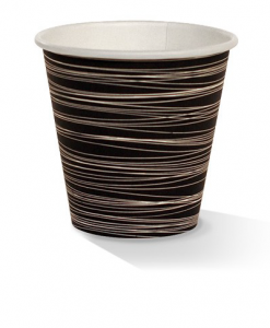 08oz single wall zebra print cup