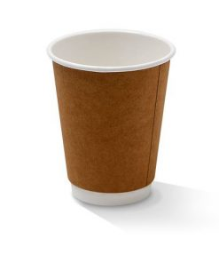 12oz double wall kraft cup