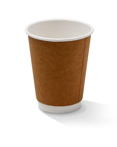 12oz double wall kraft cup