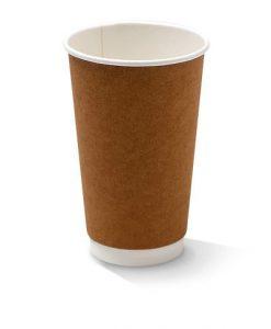 16oz double wall kraft cup