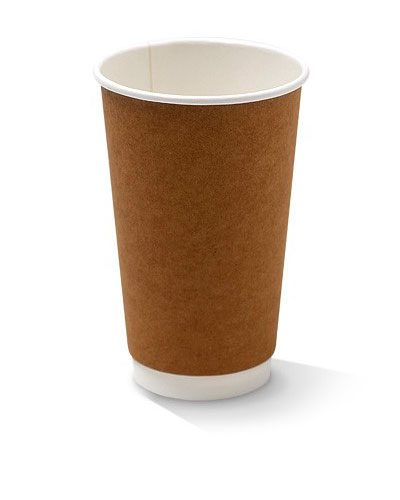 16oz double wall kraft cup