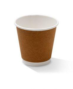 08oz double wall kraft cup
