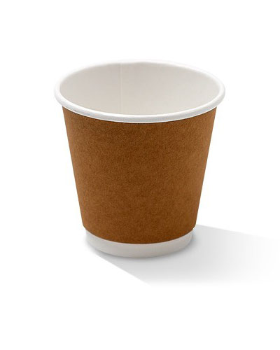 08oz double wall kraft cup