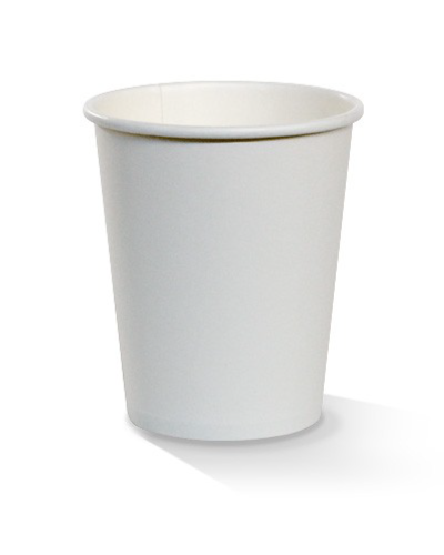 06oz single wall white cup 80mm