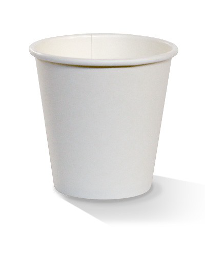 08oz single wall white cup 80mm