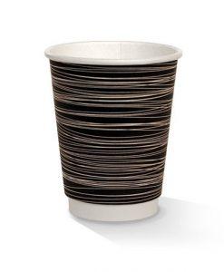 12oz double wall zebra print cup