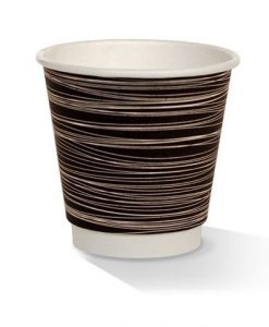08oz double wall zebra print cup