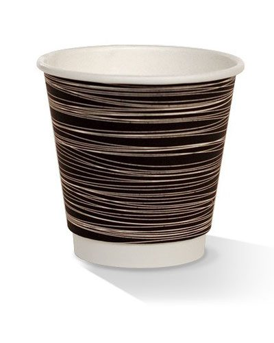 08oz double wall zebra print cup